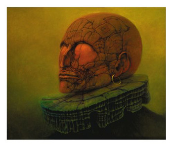 Portrait gicle'e by Beksinski