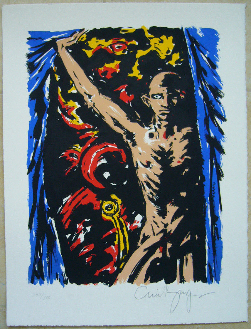 At the Door signed gicle'e by CLIVE BARKER