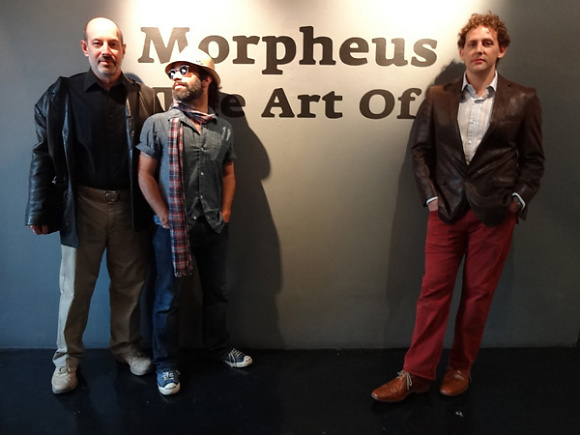 James Cowan, Jota Leal and Geoffrey Gersten in Santa Monica, CA