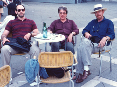 James Cowan of Morpheus, De Es Schwertberger,  and Judson Huss in Venice