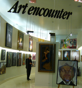 Art Encounter Forum Shops with Jota leal