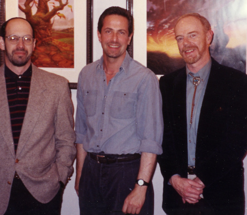 James Cowan, Clive Barker, Judson Huss at Morpheus Gallery
