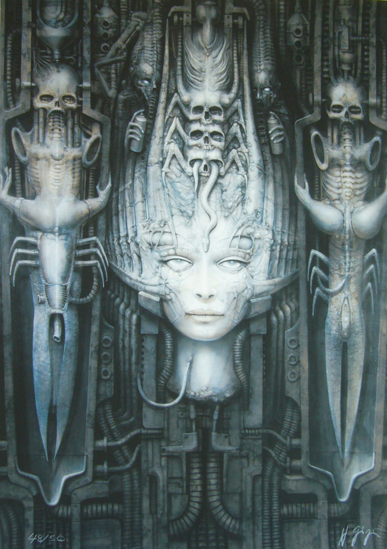 Giger Li II print morpheus art