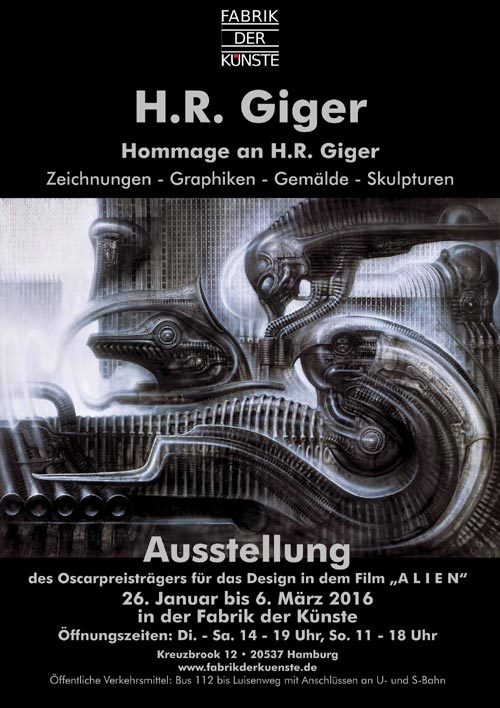 Homage to H.R. Giger
