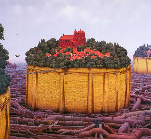 Yerka 'State of Water' Morpheus Fine Art