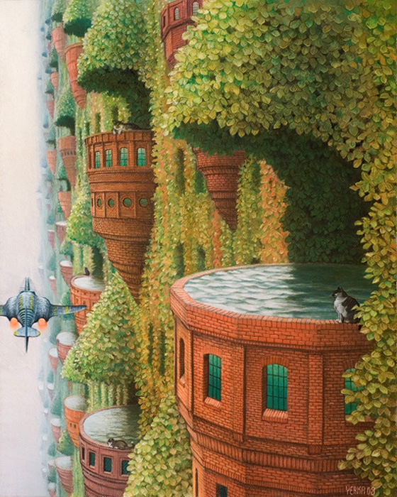 YERKA 'Hydrotherapy' Morpheus Gallery of the Surreal
