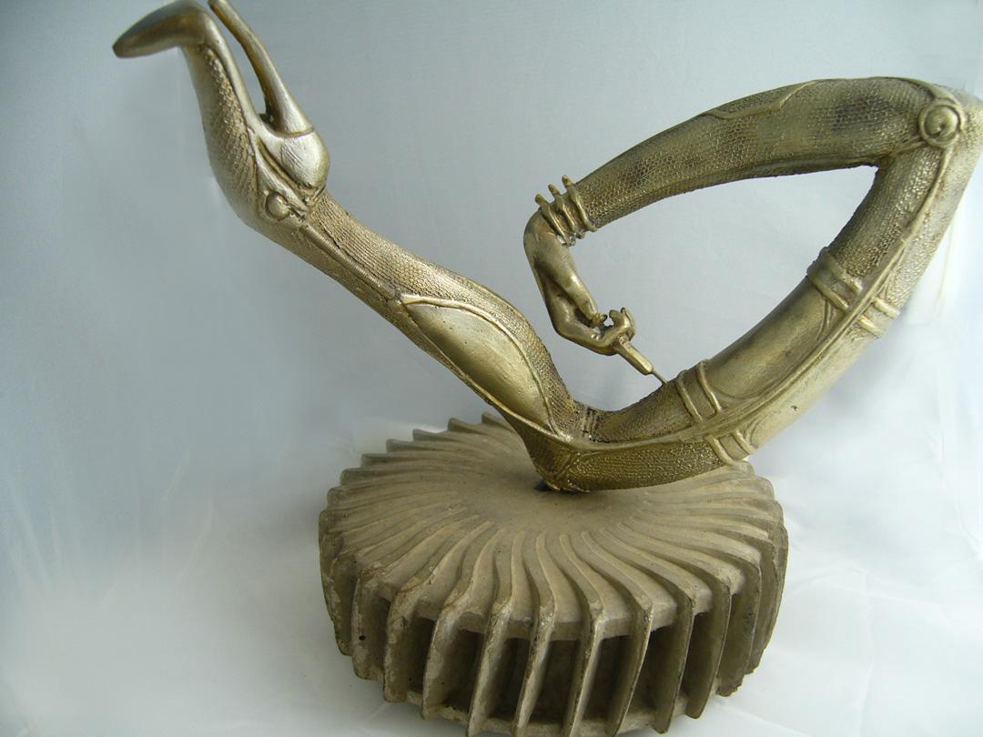 giger zodiac sculpt from morpheus