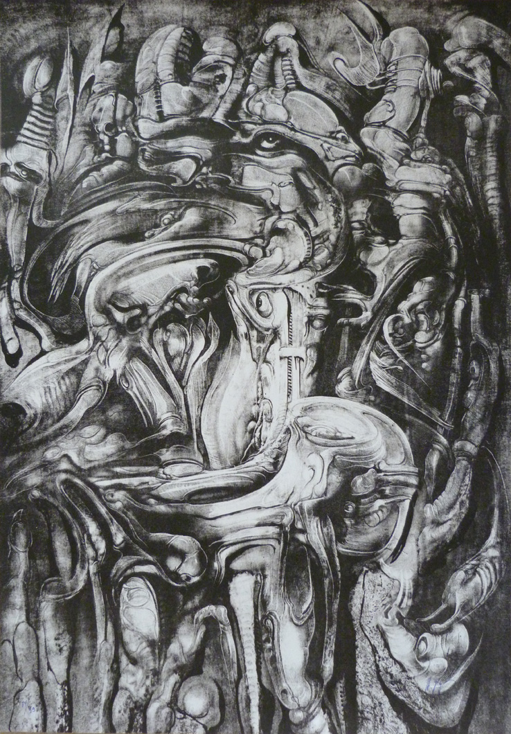 giger mordor litho morpheus gallery
