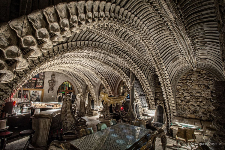 Giger Bar Interiors