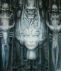 Li II gicle'e by H.R. Giger